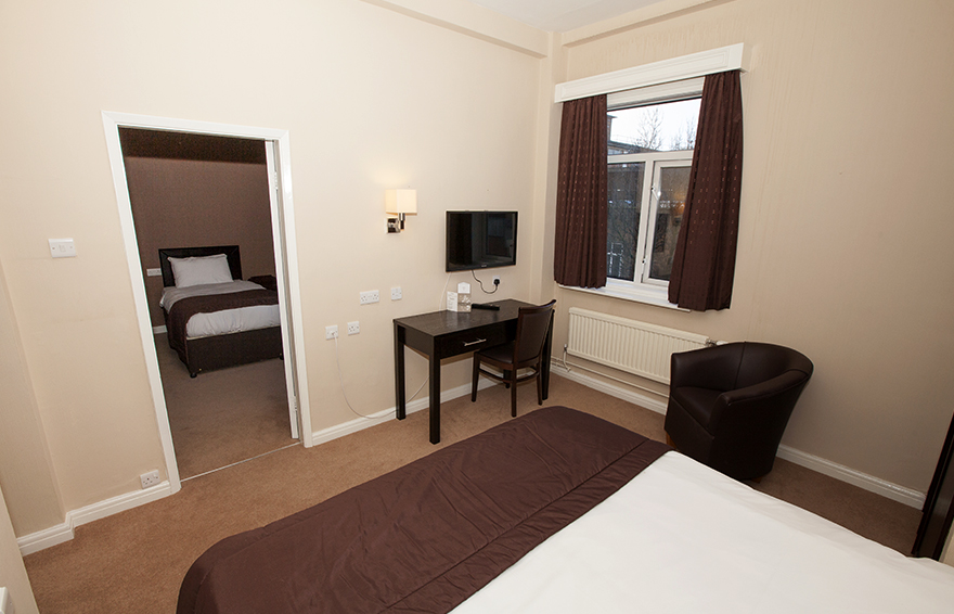 Family Room, Hotel Swansea